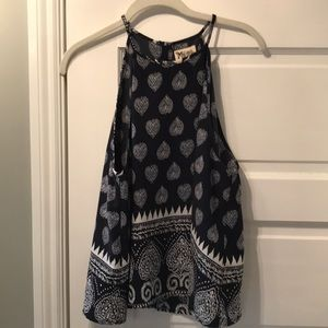 Show Me Your Mumu Printed Top size M